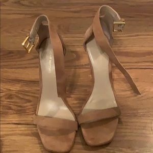 Stuart Weitzman Nudist Square Sandals